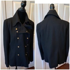 Black fall/ winter Guess jacket.  Great condition